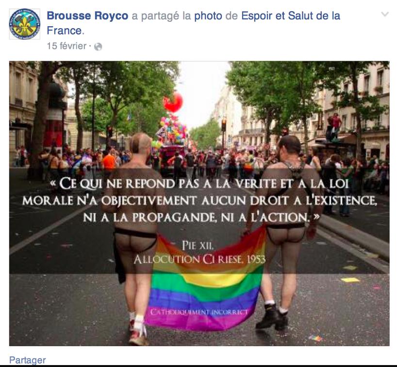 royco homophobie